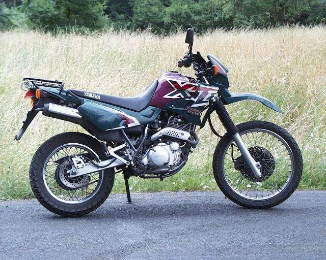 XT600E Bj.1996; in diesen Farben sieht man sie nicht so häufig