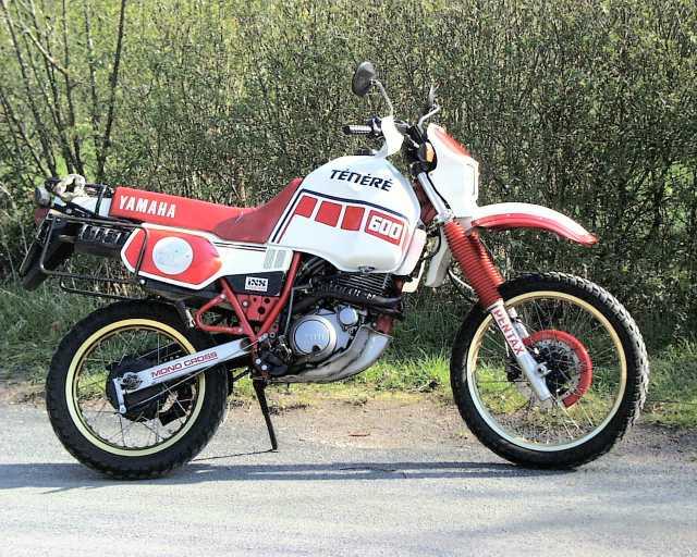 Meine XT600Z Ténéré