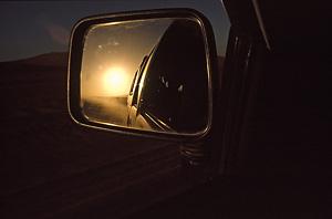 Sonne im Spiegel mit DSLR -1,5 LW